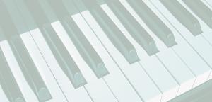 close up piano