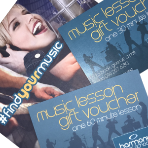 harmony music school gift vouchers