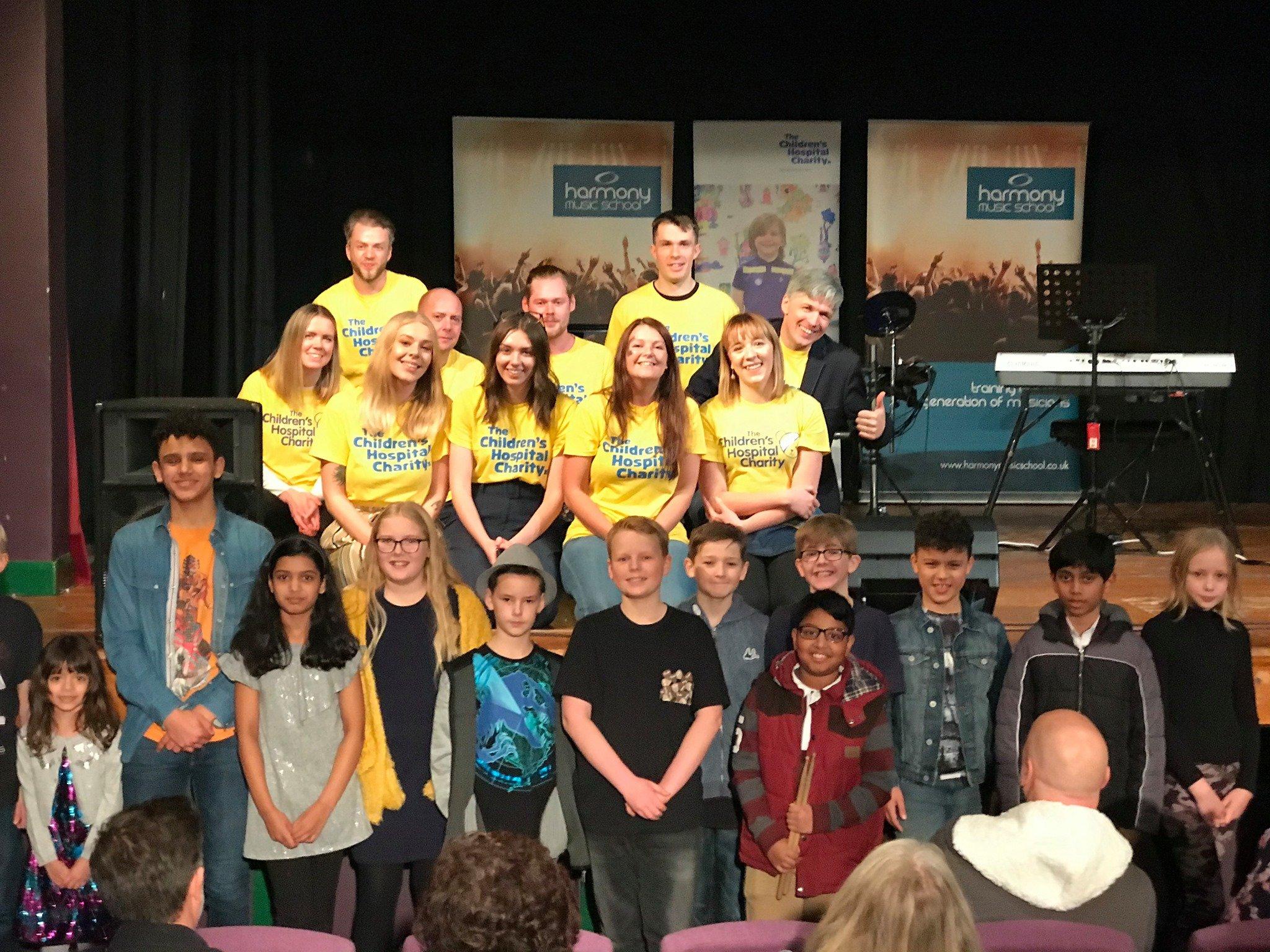 harmony music school raises money for sheffield childrens hospital