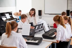 keyboard-classes for schools