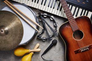 primary school music lessons equipment